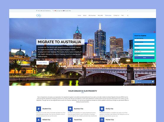 Case study - Australian Migration Services